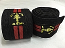 GOLD GYM KNEE WRAP ( 1 PAIR )