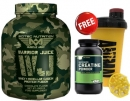 MUSCLE ARMY WARRIOR JUICE 2100 g FREE ON CREATINE 150g & SHAKER