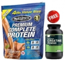 Premium Complete Protein 4 lb (1814g) FREE ON CREATINE 150g