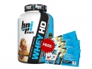 BPI Hd Whey 4.2lbs 1.9 Kg FREE 3 Packs Best Aminos Sample