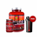 Syntha 6 Edge 4lbs + Amino X 30 servings Free Shaker