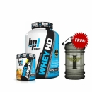 BPI Hd Whey 4.2lbs 1.9 Kg + BPI Best Aminos Free Water Containers 2.2L