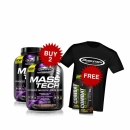 Combo MuscleTech MASS-TECH 7Lbs + Free MP Pro Gel 2 units + Free T-Shirt