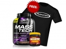 MuscleTech MASS-TECH 7Lbs + Mutant Creakong 300g Free T-Shirt