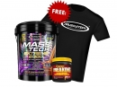 Mass-Tech Extreme 2000 22lbs + Mutant Creakong 300g Free T-Shirt