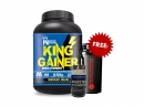 King Gainer 4lbs + Beast Master 90 Capsules Free Shaker